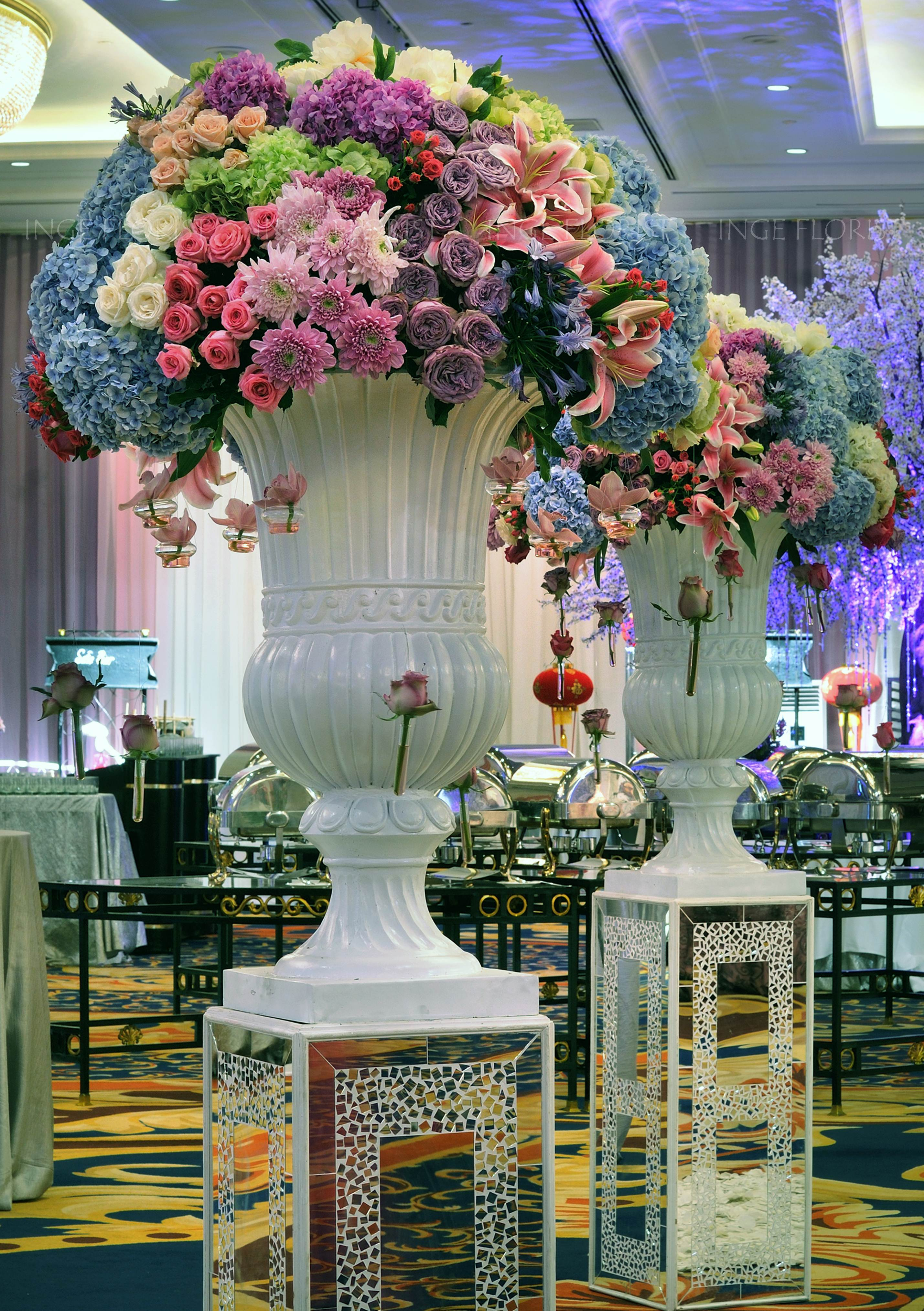 Aisle Inge Florist Wedding Decoration Dekorasi Pernikahan