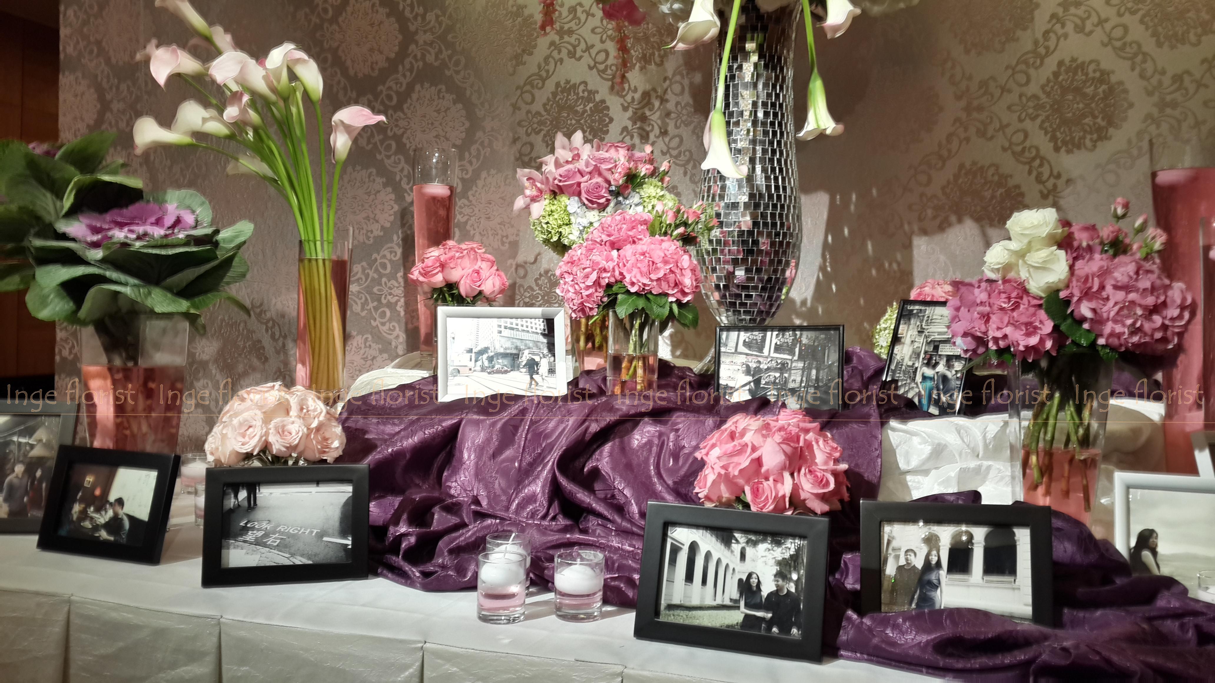 Gallery Photo Photo Booth Inge Florist Wedding Decoration