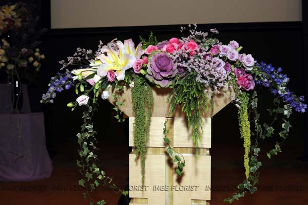 Church Inge Florist Wedding Decoration Dekorasi Pernikahan
