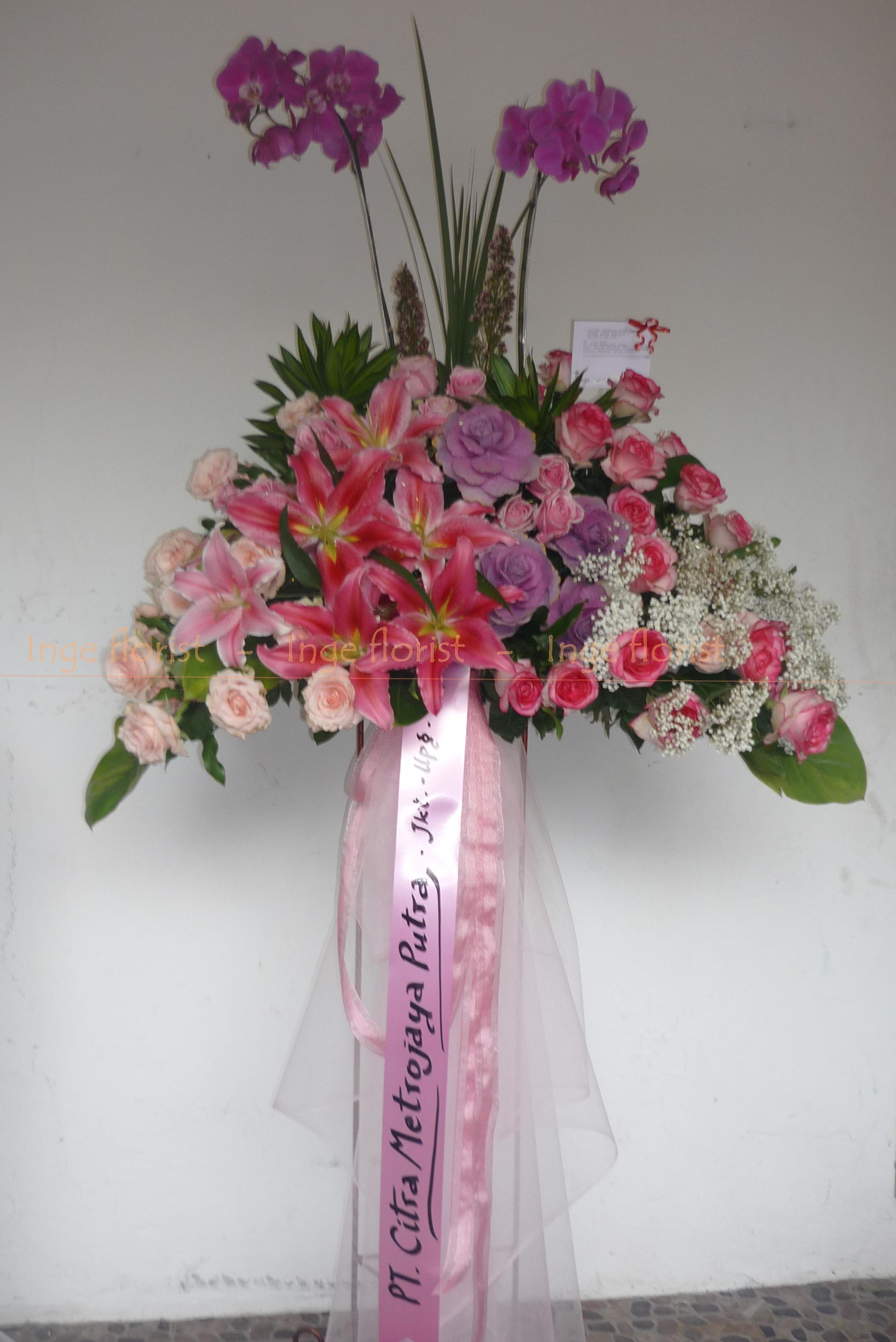 P1060468 inge florist wedding decoration dekorasi pernikahan standing flower congratulation p1060468 junglespirit Choice Image